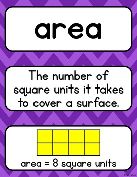 Go Math 3rd Grade Vocabulary Chapters 10-12