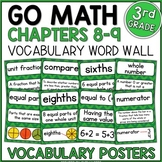 Go Math 3rd Grade Vocabulary Chapters 8-9