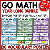 Go Math 3rd Grade Vocabulary for the Year