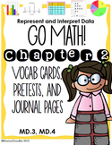 Go Math! 3rd grade Chapter 2 Resource Kit for USING DATA!