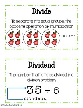 Go Math! 3rd grade Chapter 6 Division Resource Kit!