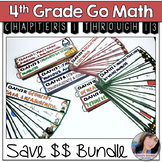 4th Grade Go Math Chapters 1 - 13 Bundle