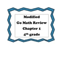 Go Math 4th Grade, Chapter 1 Review