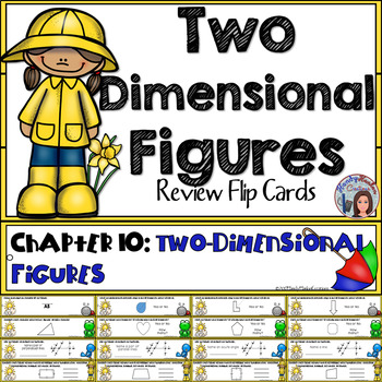 Go Math 4th Grade Two Dimensional Figures Math Center