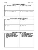 Go Math 4th Grade Chapter 2 Lessons 1-4 Review