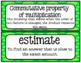 Go Math 4th Grade Chapter 3 Vocabulary