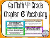 Go Math 4th Grade Chapter 6 Vocabulary