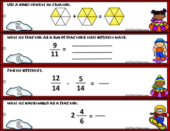 Go Math 4th Grade Chapter 7 Add and Subtract Fractions