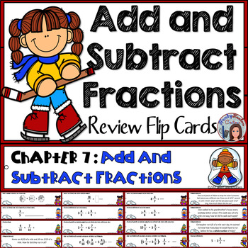 Go Math 4th Grade Add and Subtract Fractions Activity