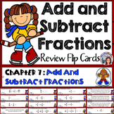 Go Math 4th Grade Chapter 7 Add and Subtract Fractions Activity