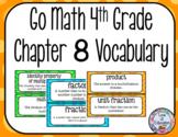 Go Math 4th Grade Chapter 8 Vocabulary
