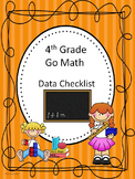 Go Math 4th Grade Data Checklists