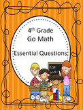 Go Math 4th Grade Essential Questions