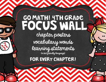 Go Math! 4th Grade Focus Wall