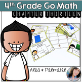Go Math 4th Grade Chapter 13 Perimeter and Area Activity