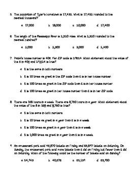 Go Math 4th Grade Review Tests Bundle - Ch. 1-13, Common Core