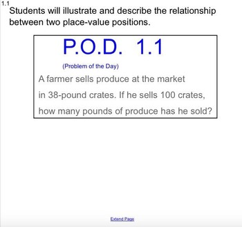 SmartBoard Go Math 5th Grade 1.3 (GREAT for Special Ed)
