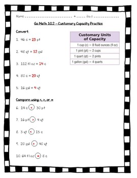 Chapter 10 Extra Practice P 215 Answer Key 5th Grade