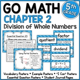 Go Math 5th Grade Chapter 2 Resource Packet