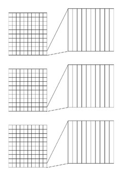 Go Math 5th Grade Chapter 3 Lesson 1 Grids for Shading Practice