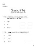 Go Math 5th Grade Chapter 3 Test