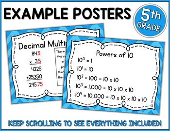 Go Math 5th Grade Chapter 4  Resource Packet - Multiply Decimals