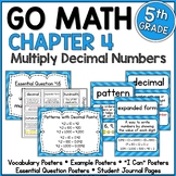 Go Math 5th Grade Chapter 4 Resource Packet