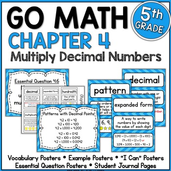Go Math 5th Grade Chapter 4 Resource Packet by Shelly Rees | TpT