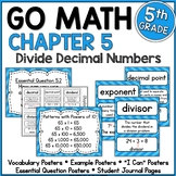 Go Math 5th Grade Chapter 5 Resource Packet