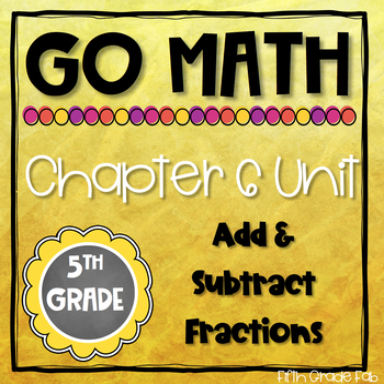 Go Math 5th Grade Chapter 6