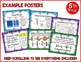 Go Math 5th Grade Resource Bundle for the Year - Vocab, Posters, Notebooks