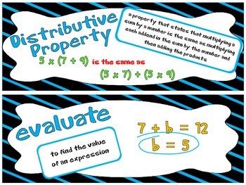 Go Math 5th Grade Vocabulary Cards