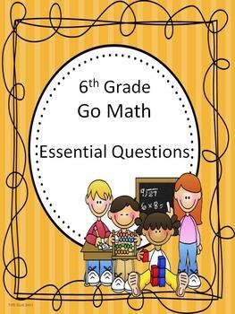 Go Math 6th Grade Essential Questions