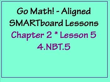 Go Math Aligned - Ch 2 Lesson 5   Distributive Property Area Model   4.NBT.5