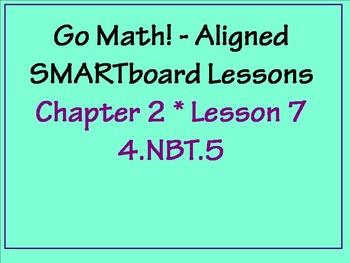 Go Math Aligned - Ch 2 Lesson 7   Partial Products 4.NBT.5