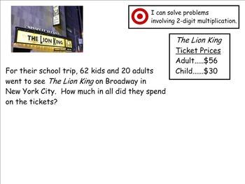 Go Math Aligned - Ch 3 Lesson 7 Word Problems 4.NBT.5