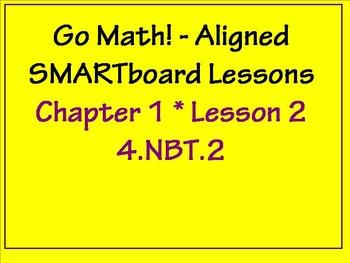 Go Math Aligned Chapter 1 Lesson 2   4.NBT.2