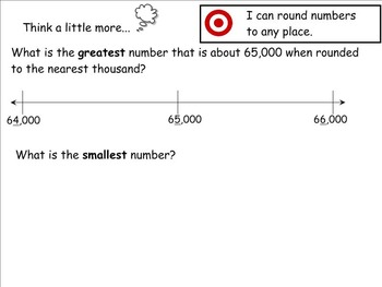 Go Math Aligned Chapter 1 Lesson 4   Rounding Numbers 4.NBT.3