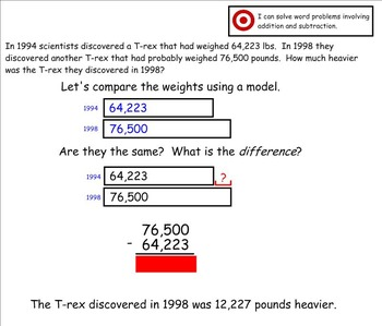 Go Math Aligned Chapter 1 Lesson 8 Comparisons AND Chapter Review