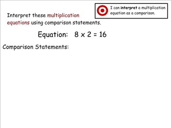 Go Math Aligned - Chapter 2 Lesson 1  4.OA.1