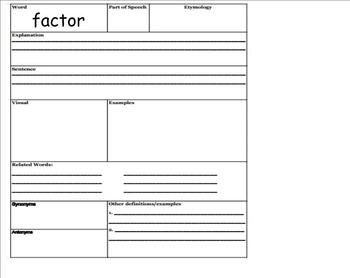 Go Math Aligned - Chapter 5 Lesson 1 Factors  4.OA.4