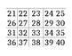Go Math Bingo Cards