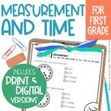 Go Math Chapter 9 Nonstandard Measurement Time, Printable and Distance Learning