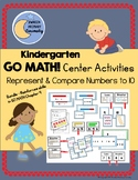 Go Math Center Activities - Represent and Compare Numbers