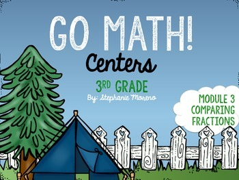 Comparing Fractions Centers Go Math Module 3 Third Grade