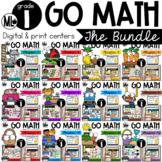 Go Math! Centers - the BUNDLE for First Grade