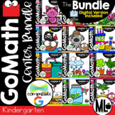 Go Math Centers - the BUNDLE for KINDERGARTEN