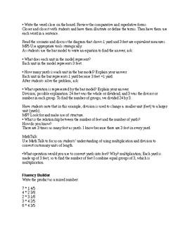 5th Grade Go Math Ch. 10 Unit Lesson Plans