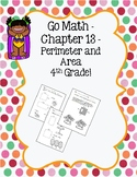 Go Math Ch 13 - 4th Grade - Perimeter and Area Practice - Summer