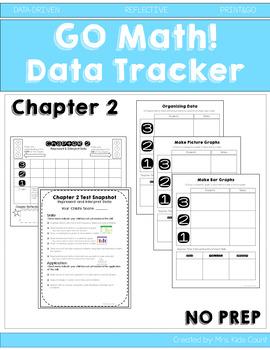 Go Math! Ch. 2 Data Tracker